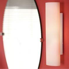 Badleuchte Zola Opalglas weiß matt