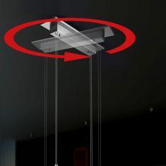 Bankamp 360°- Modul-Anschlusskasten nickel matt