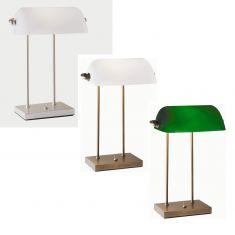 Bankerlampe in 2 Varianten - mit Kippschalter