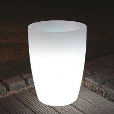 Beleuchteter Blumentopf - Höhe 60cm