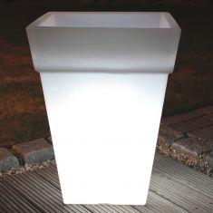 Beleuchteter Blumentopf - Höhe 68cm