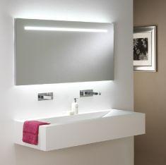 Beleuchteter Spiegel Flair mit Zugschalter, zwei Längen