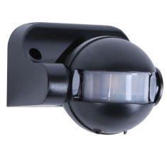 Bewegungsmelder in schwarz schwarz