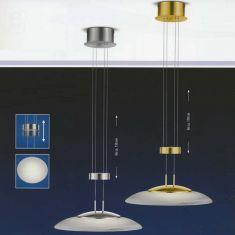 B-Leuchten Höhenverstellbare LED-Pendelleuchte Ø 42cm
