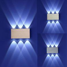 B-Leuchten LED Wandleuchte Stream, Oberfläche wählbar