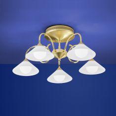 B-Leuchten LED-Deckenleuchte Bianca mit dimmbaren LEDs