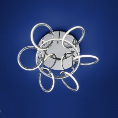 B-Leuchten LED-Deckenleuchte Blois - Breite 60 cm
