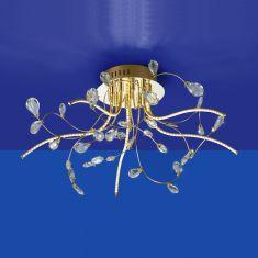 B-Leuchten LED-Deckenleuchte Crystal Ø 54 cm