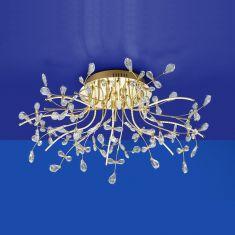 B-Leuchten LED-Deckenleuchte Crystal Ø 77 cm