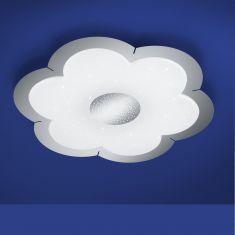 B-Leuchten LED-Deckenleuchte Daisy mit Fernbedienung