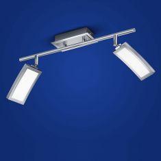 B-Leuchten LED-Deckenleuchte Lucca 2-flammig