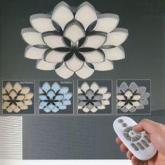 B-Leuchten LED-Deckenleuchte Rose mit Fernbedienung