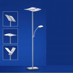 B-Leuchten LED-Fluter Duo mit Lesearm