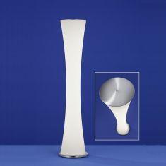 B-Leuchten LED-Stehleuchte Venus Nickel matt