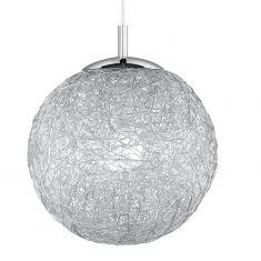 Charismatische Kugelleuchte Aluminiumdrahtgeflecht Ø 40cm 40,00 cm