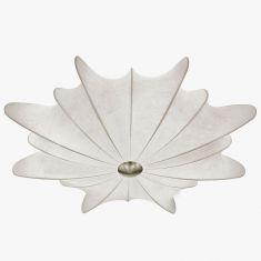 Cocoon-Deckenleuchte - Ø58cm 2x 60 Watt, 13,50 cm, 58,00 cm