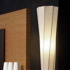 Cocoon-Stehleuchte in weiß, Höhe 115cm