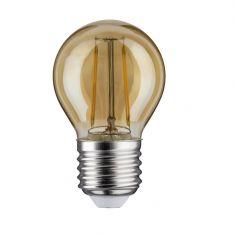 D45 LED Tropfen 2,5 Watt E27 Gold 230 V Warmweiß