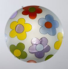 Deckenleuchte Flower-Power im Kinderzimmer, 40cm 2x 60 Watt, 40,00 cm