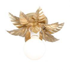 Deckenleuchte in Gold - Florentiner Stil - 27 cm