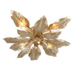 Deckenleuchte in Gold - Florentiner Stil - Gold oder Gold-antik