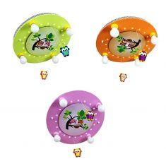 Deckenleuchte mit niedlicher Eulenfamilie, in 3 Farben