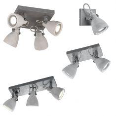 Deckenstrahler Concrete - 1-, 2- oder 3-flammig