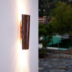 Dekorative Dachziegel-Leuchte Krokant, IP44 für Innen und Außen