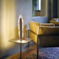 Dekorative Tischleuchte Nevis inklusive LED