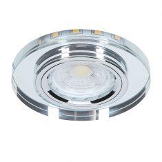 Dekorativer Dekor-Einbauspot mit GU10 LED 7Watt