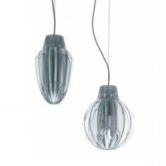 Designer Pendelleuchte Agave von Luceplan - oval oder rund wählbar - inklusive Farbfilter