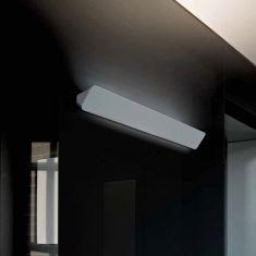 Designer Wandleuchte Lane von Luceplan - Länge 155 cm - für indirekte Beleuchtung