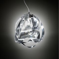 Designer-Pendelleuchte Goccia Prisma von Slamp, Ø30cm
