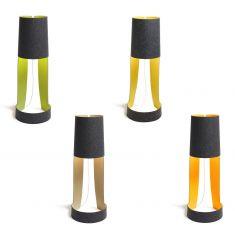 Design-Standleuchte aus Wollfilz - 4 Farbkombinationen 100% Naturprodukt - Höhe 91cm