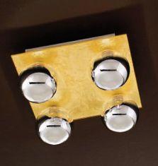Diese Oberflächen bei der Wand-/Deckenlampe veredlen Ihre Räume