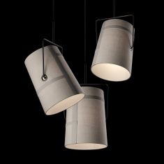 Diesel Living with Foscarini, Pendelleuchte Fork Piccola 4 Farben