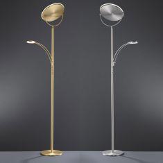Dimmbarer LED-Fluter Sole mit Lesearm, 2 Oberflächen