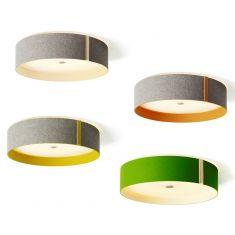 Domus Design-LED-Deckenleuchte mit Wollfilz