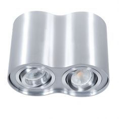 Downlight 2-flammig aus Aluminium inklusive LED 2 x 7 Watt
