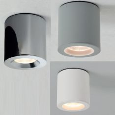 Downlight Kos rund für das Badezimmer, 4 Farben