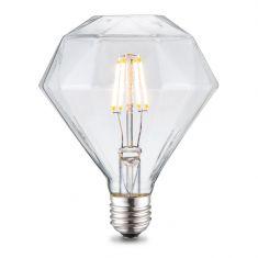 E27 LED Filament Leuchtmittel Diamant 4W 2700K