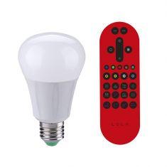 E27 LED Leuchtmittel Lola Bulb 6,7W, inkl. Fernbedienung