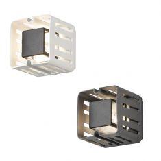 Eckige LED Außenwandleuchte New Pescara  - Weiß oder Anthrazit