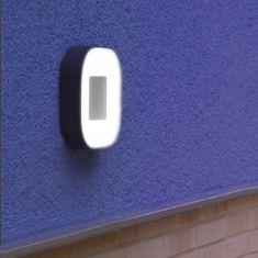 Eckige LED-Leuchte Ublo, Aluminium und Acrylglas