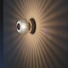 Effektleuchte Corona für Wand oder Decke mit tollem Lichtspiel
