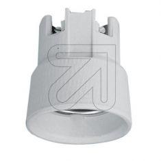 Einbau Porzellan-Fassung E27 für Schraubbefestigung mit 2 Befestigungslöchern