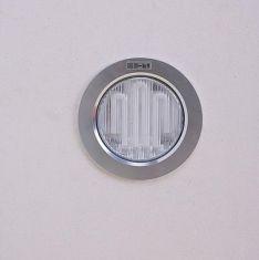 Energiespar Einbauleuchte aus Aluminium, GX53, inklusive Leuchtmittel