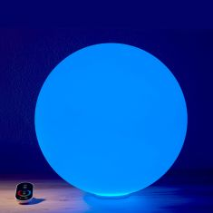 Epstein Akku Außenkugel Snowball mit LED RGBw, 4 Größen