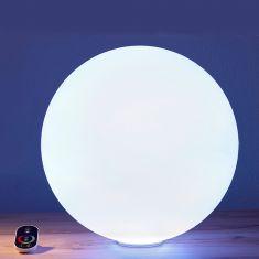 Epstein Akku Außenkugel Snowball mit LED weiß, 4 Größen
