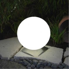 Epstein Außenkugel Snowball mit Edelstahlfuß, 4 Größen